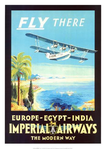 Imperial Airways Art Print