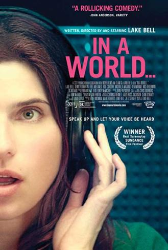 In a World… Movie Poster マスタープリント