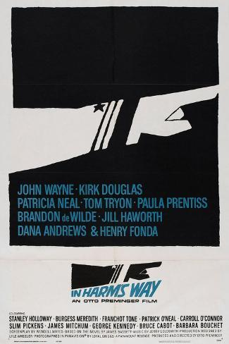 In Harm's Way, 1965, Directed by Otto Preminger Giclee Print