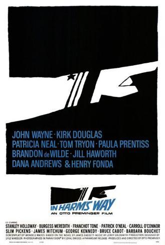In Harms Way Poster