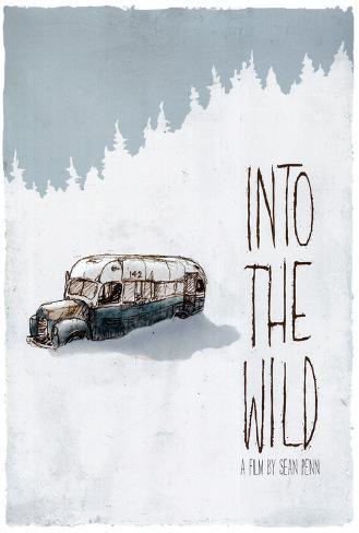 In i det vilda Poster