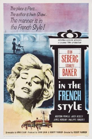 In the French Style, Jean Seberg, 1963 Art Print