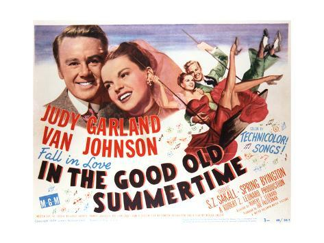 In the Good Old Summertime - Lobby Card Reproduction Art Print