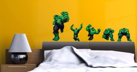 Incredible Hulk Wall Decal