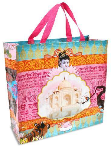 India Shopper Bag Tote Bag