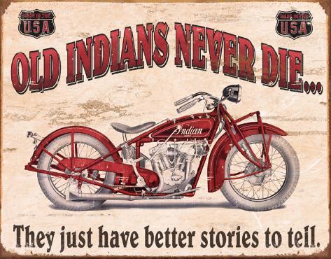 Indian - Better Stories Tin Sign