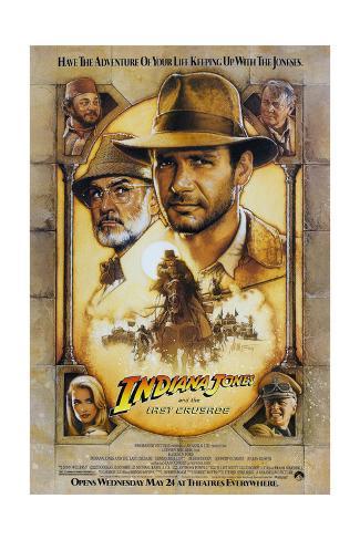 Indiana Jones and the Last Crusade Art Print