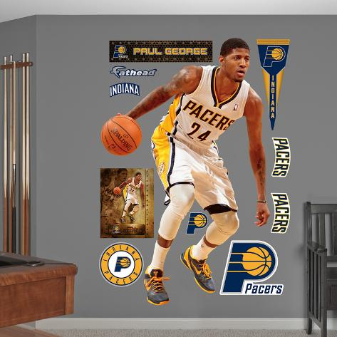 499d5914943 Indiana Pacers Paul George Wall Decal Sticker Wall Decal - at ...