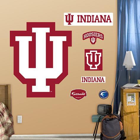Indiana University Logo Wall Decal