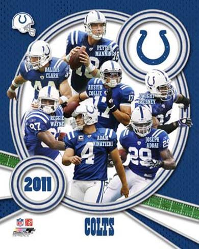 Indianapolis Colts 2011 Team Composite Photo