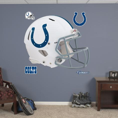Indianapolis Colts Revolution Helmet Wall Decal