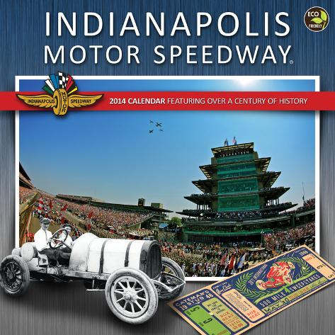 Indianapolis motor speedway 2014 calendar calendarios en for Indianapolis motor speedway calendar