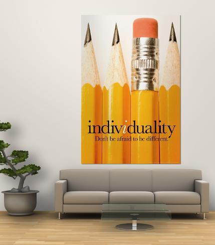 Individuality Giant Art Print