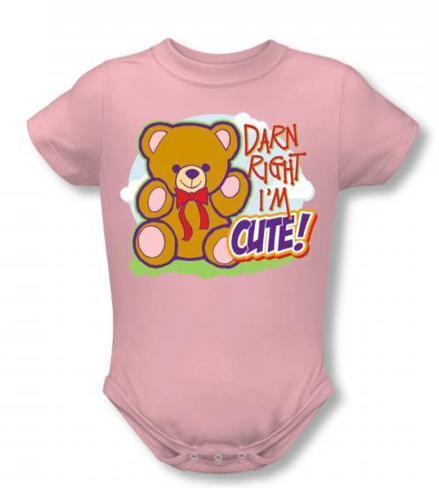 Infant: Darn Right Infant Onesie