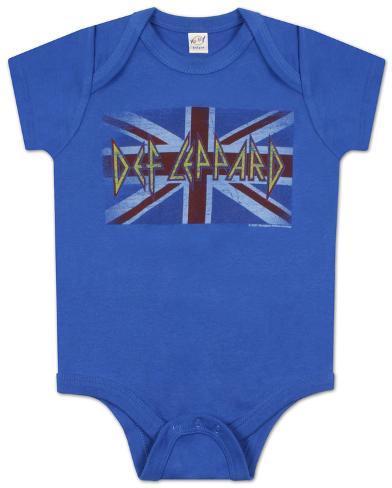 Infant: Def Leppard - Lil Union Jack T-Shirt