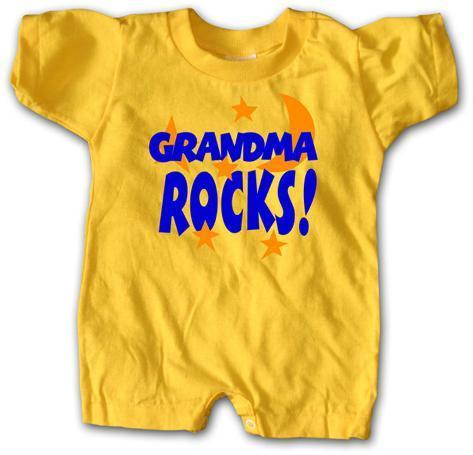 Infant: Grandma Rocks Infant Onesie