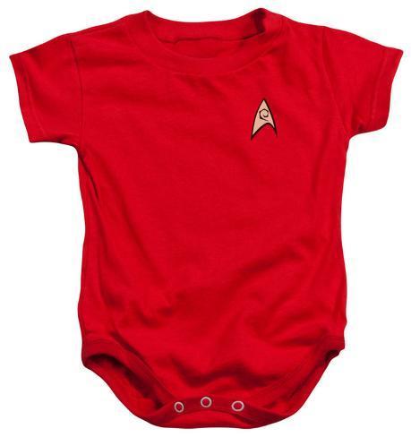 Infant: Star Trek - Enfineering Uniform Infant Onesie