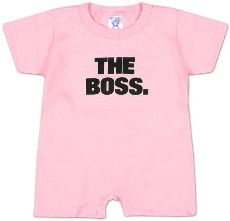Infant: The Boss Infant Onesie