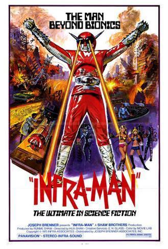 Infra-Man Poster