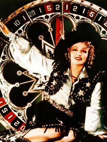 """Ingen ängel, """"Destry Rides Again"""", Marlene Dietrich, 1939 Foto"""
