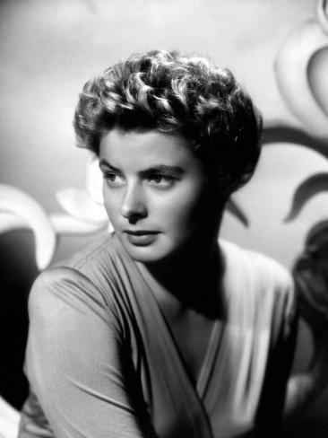 Ingrid Bergman.