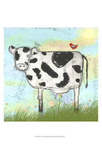 Moo Land Art Print