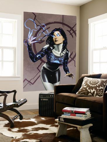 Inhumans No.9 Cover: Nahrees Wall Mural
