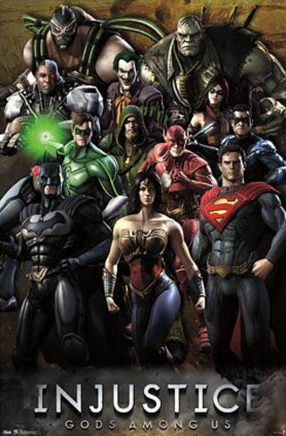 Injustice: Gods Among Us - Grid Poster