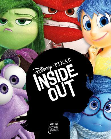 Inside Out (Silhouette) Mini Poster