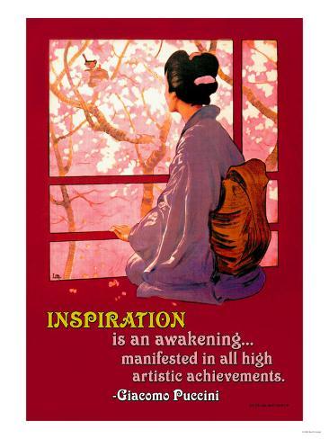 Inspiration: Madame Butterfly Art Print