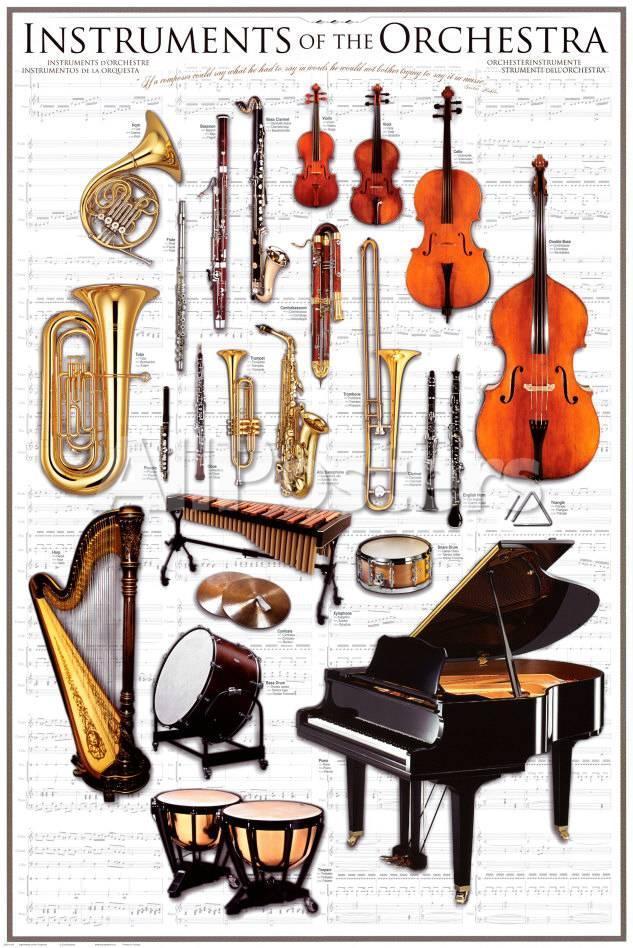 instruments symphony orchestra print at allposters com