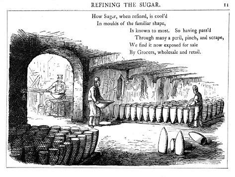 Interior of a Sugar Refinery, 1860 Giclée-vedos