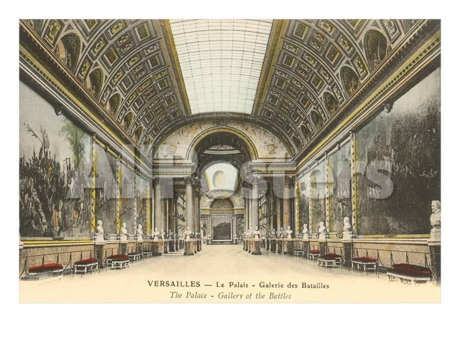 Interior, Palacio de Versalles (Francia) Pósters en AllPosters.es