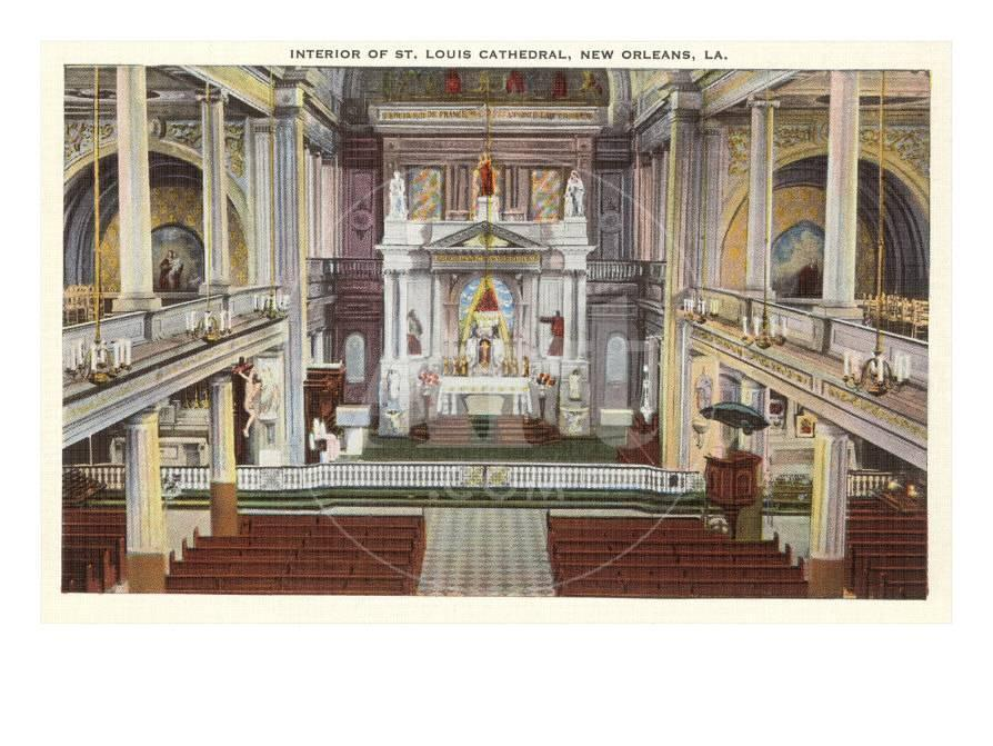 Interior St Louis Cathedral New Orleans Louisiana Prints At Allposters