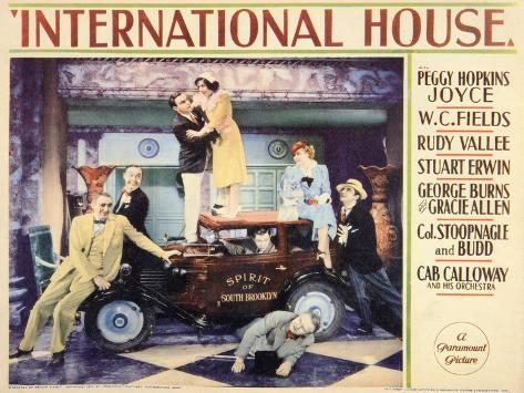 International House, 1933 Art Print
