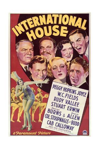 International House - Movie Poster Reproduction Art Print