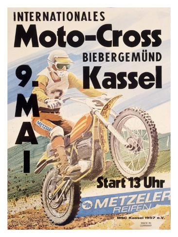 International Kassel Motocross Giclee Print