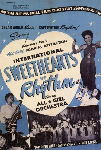 International Sweethearts of Rhythm Poster