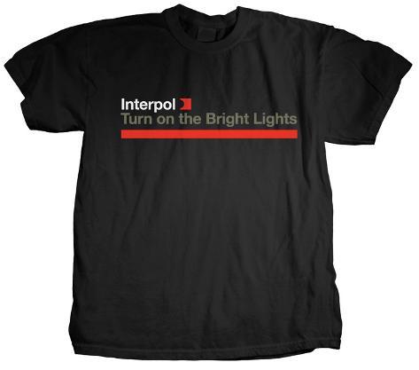 Interpol - Bright Lights T-Shirt