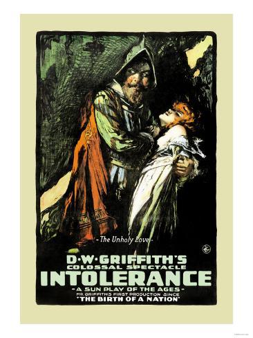 Intolerance Konstprint
