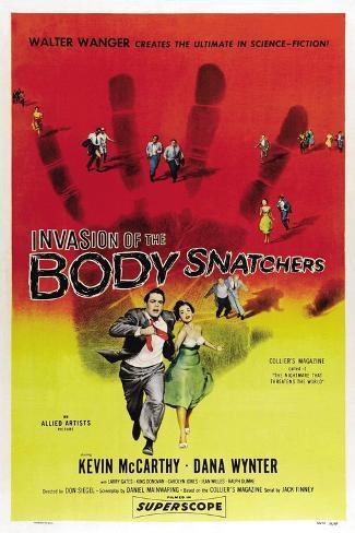 Invasion of the Body Snatchers, 1956 Gicléetryck