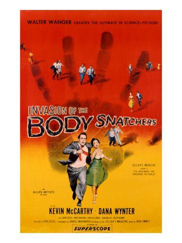 Invasion Of The Body Snatchers, Kevin McCarthy, Dana Wynter, 1956 Photo