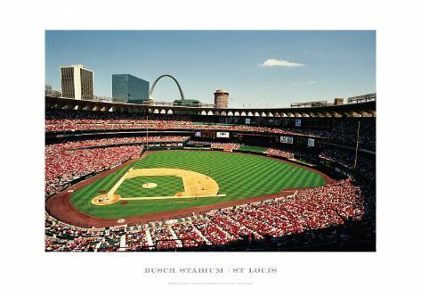 Busch Stadium, St Louis Framed Art Print