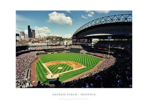 Safeco Field, Seattle Framed Art Print