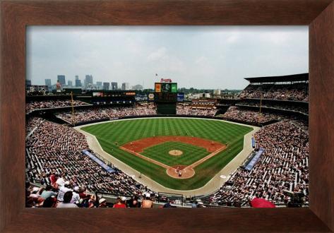 Turner Field, Atlanta Framed Art Print