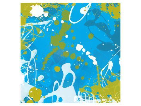 Aqua II Art Print