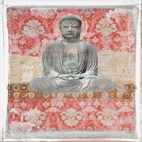Buddha I Stretched Canvas Print