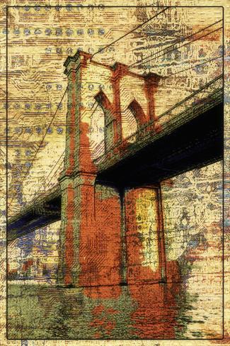 The Brooklyn Bridge Stretched Canvas Print