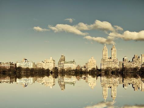Mirrored City Giclee Print