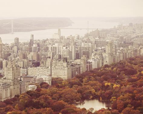 New York Autumn II Giclee Print